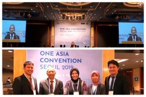Delegasi FISIP UBB Hadiri Konvensi One Asia di Seoul