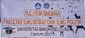 Yudisium Online ke II Fakultas Ilmu Sosial dan Ilmu Politik