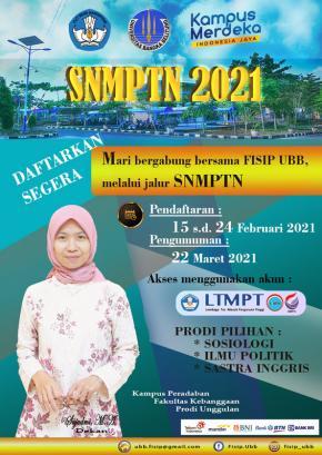 Mari Bergabung Bersama FISIP UBB di Jalur SNMPTN 2021