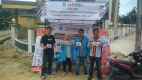 Ajak Masyarakat Awasi Pemilu, FISIP UBB Bersama Bawaslu Gelar Pojok Pengawasan Pemilu Partisipatif Di Kabupaten Bangka Barat
