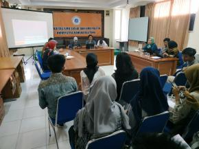 FISIP UBB Launching Jurnal Ilmiah Mahasiswa